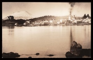 E.W. Merrill Postcard of Sitka, 83.19.5